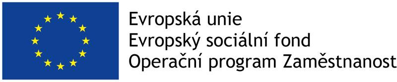 Logo Operačního programu zaměstnanost